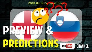 Prediksi England VS Slovenia - Preview and Predictions Word Cup Qualifiers 2018