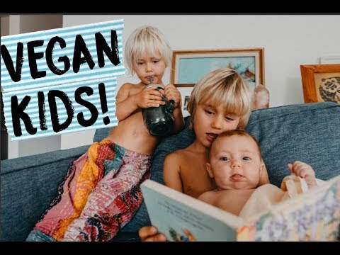 What my VEGAN KIDS ATE TODAY in HAWAII