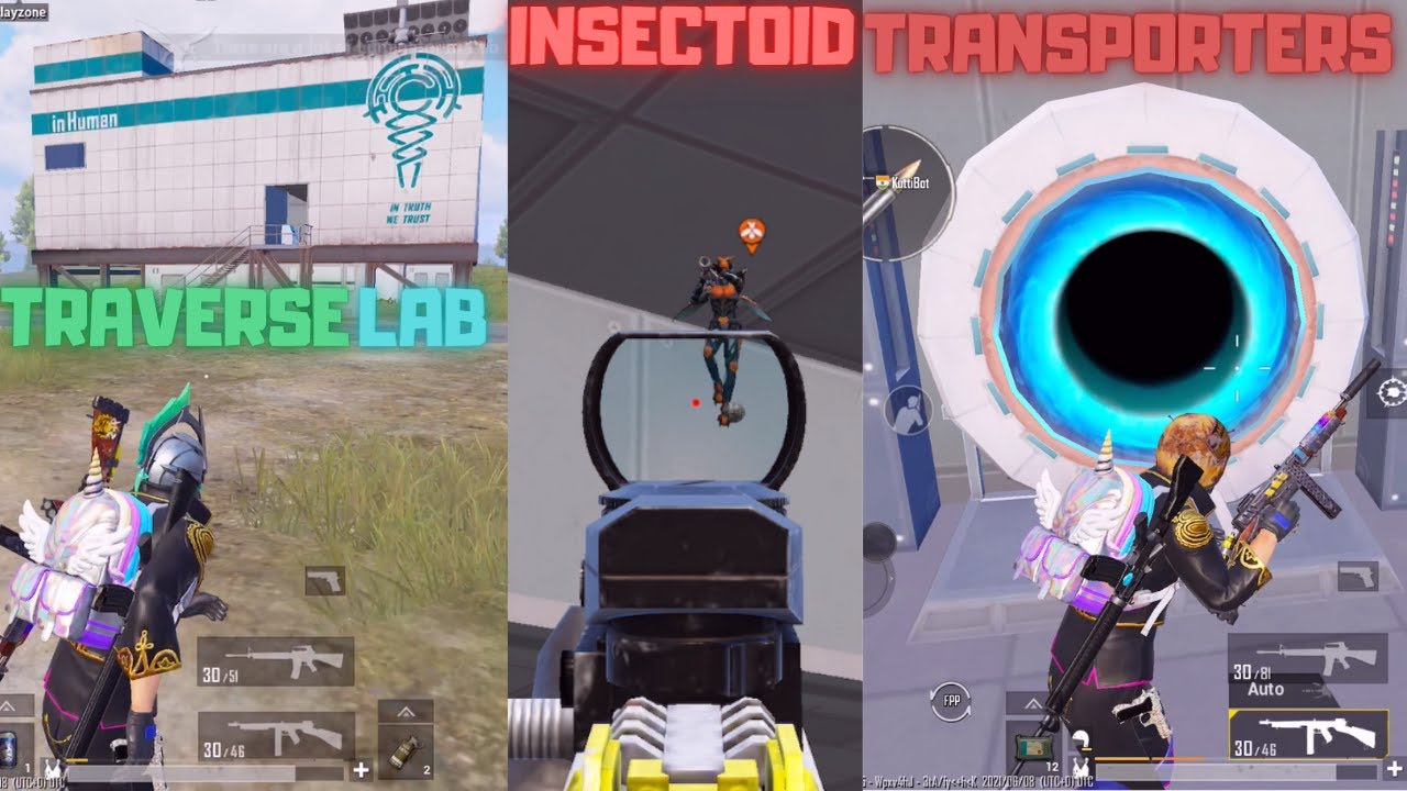 Download New Laboratory Insect Transporters In Traverse Insectoid Mode Pubg mobile New Update Gameplay