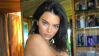 Kendall Jenner's Gorgeous Nude Photo Shoot Leaks & Fans Rave That She Looks Like An Athlete