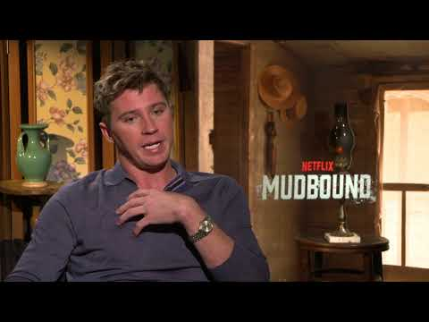 """Mudbound    Garrett Hedlund - """"Jamie McAllan""""  Generic Junket Interviews    SocialNews.XYZ"""