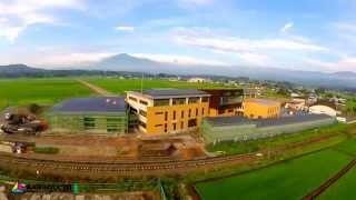 八幡平市◆建設中の新庁舎