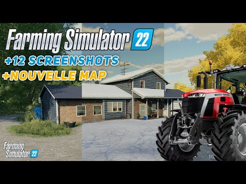 12 Nouveaux Screenshots de Farming Simulator 22 ! (FS22 NEWS)