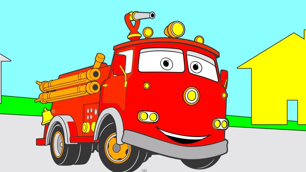 çizgi Film Arabalar Pixar Boyama Kitabı Renkleri öğreniyoruz