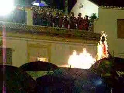 Fiestas de Mayo 2007.-Coro rociero canta a la Patrona