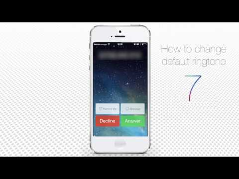 How to Change Default Ringtone on iPhone