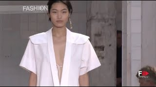 JIL SANDER Highlights Spring 2019 Milan - Fashion Channel