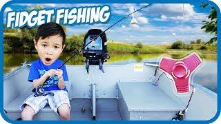 FIDGET SPINNER FISHING, Pretend Toys Fishing - TigerBox HD