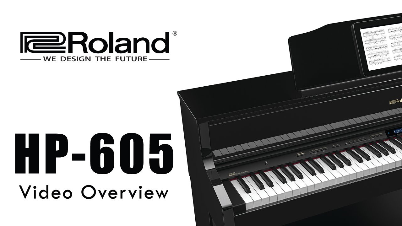 Roland HP-603 Digital Piano - YouTube