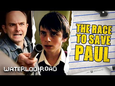 Jack and Eddie Rush to Save Paul Langley from His Uncle | Waterloo Road