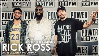 Rick Ross On New Album 'Port Of Miami 2',  His Thoughts On Nipsey Hussle, And The New Lakers Squad