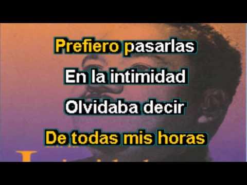 Karaoke - Amor mío - Alvaro Carrillo - pistas cancion descargar