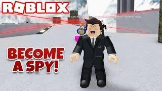 Become a SPY (Roblox Obby)
