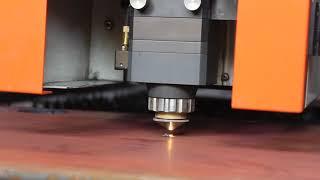 16mm carbon steel cutting by fiber laser cutting machine