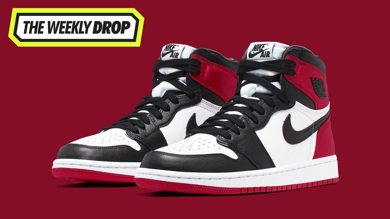 Air Jordan 1 'Satin Black Toe