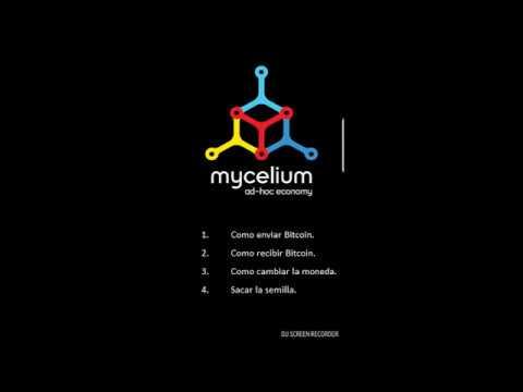 Manual Mycelium Bitcoin Wallet