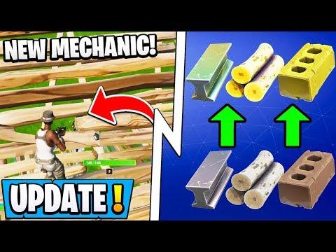 *NEW* Fortnite 11.40 Update! | Shoot Through Stairs, Material Buff, OG Skin Gone!
