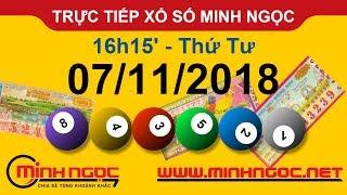Xổ số Minh Ngọc™ Thứ Tư 07/11/2018 - Kênh chính thức từ Minhngoc.net.vn