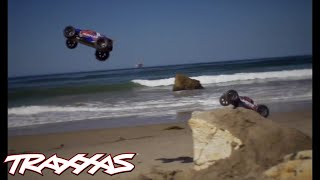 Rustler and Jato 3.3: A Day at the Beach | Traxxas