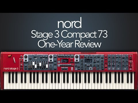 Nord Stage 3 Compact 73 - One-Year Review