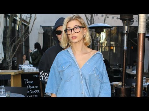Hailey Baldwin And Justin Bieber Fuel Pregnancy Speculation At Lunch In WeHo!