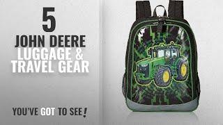 Top 10 John Deere Luggage & Travel Gear [2018]: John Deere Boys' Backpack, Black