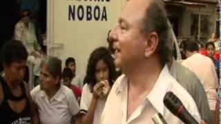 Alvaro Noboa trabaja en conjunto con la Fundación Cruzada Nueva Humanidad (VIDEO) [JUL-8-2011]