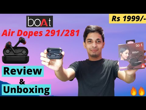 boAt Airdopes 291/281 || HONEST REVIEW & UNBOXING || Best TWS Buds under Rs 2000 ? 🤔🤔