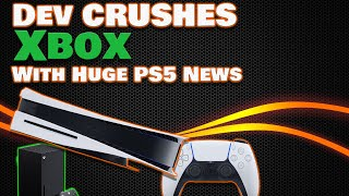 Developer Destroys Xbox With Amazing Ps5  Leaked Feature! Sony Even Admits It's Real!