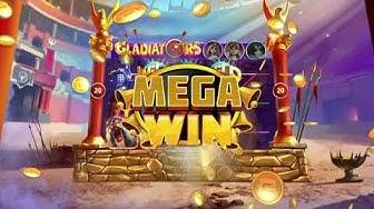 Choose your mega win Goddess & be a winner on Gladiators Free Slot at Gambino Slots!