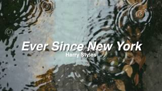 Ever Since New York (Harry Styles) Next Door Audio + Rain