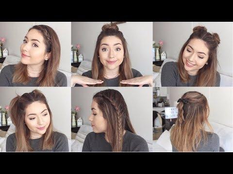 Peinados Para Pelo Corto Si Te Aburre Llevar El Pelo Suelto