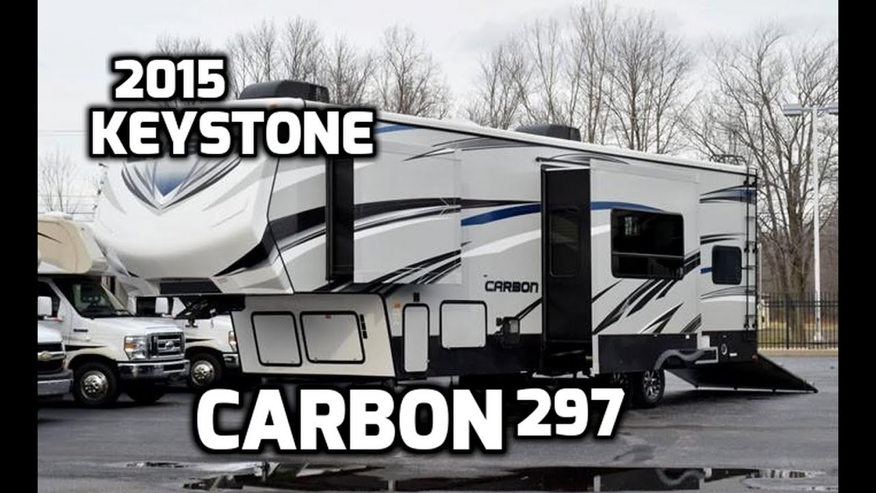 2015 Keystone Carbon 297 Toy Hauler Fifth Wheel Youtube Stock Trailer Wiring Diagram Likewise Atv Together