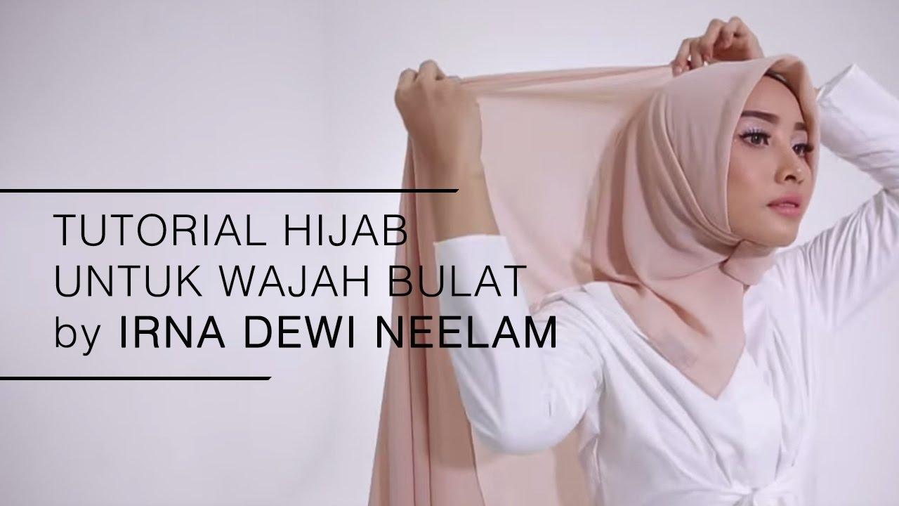 Tutorial Hijab 2016 Tutorial Hijab Untuk Wajah Bulat By Irna
