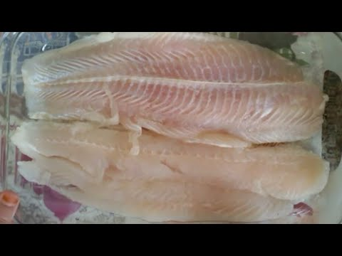 Baked White Fish Fillets With Herbs Recipe  *Khalida Kitchen *Urdu In Hindi