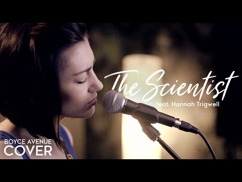 The Scientist  Coldplay Boyce Avenue feat Hannah Trigwell acoustic  on Apple &