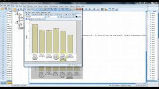 Video 12 - Multiple Variable Bar Chart in SPSS and Excel