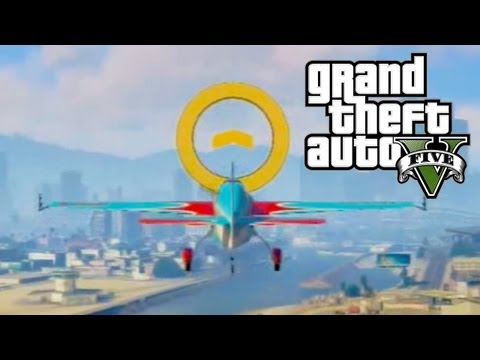 GTA 5 - Flight School 100% All Gold Medals Guide (GTA V)