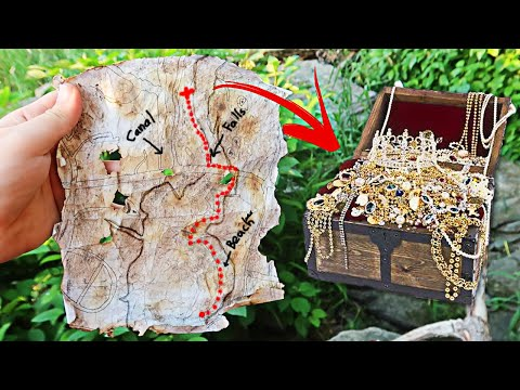 I Found A Treasure Map And Decided To Follow It, You Will Not Believe What I Found!!