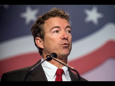 Rand Paul Says Cheney Pushed Iraq War For Halliburton Profit