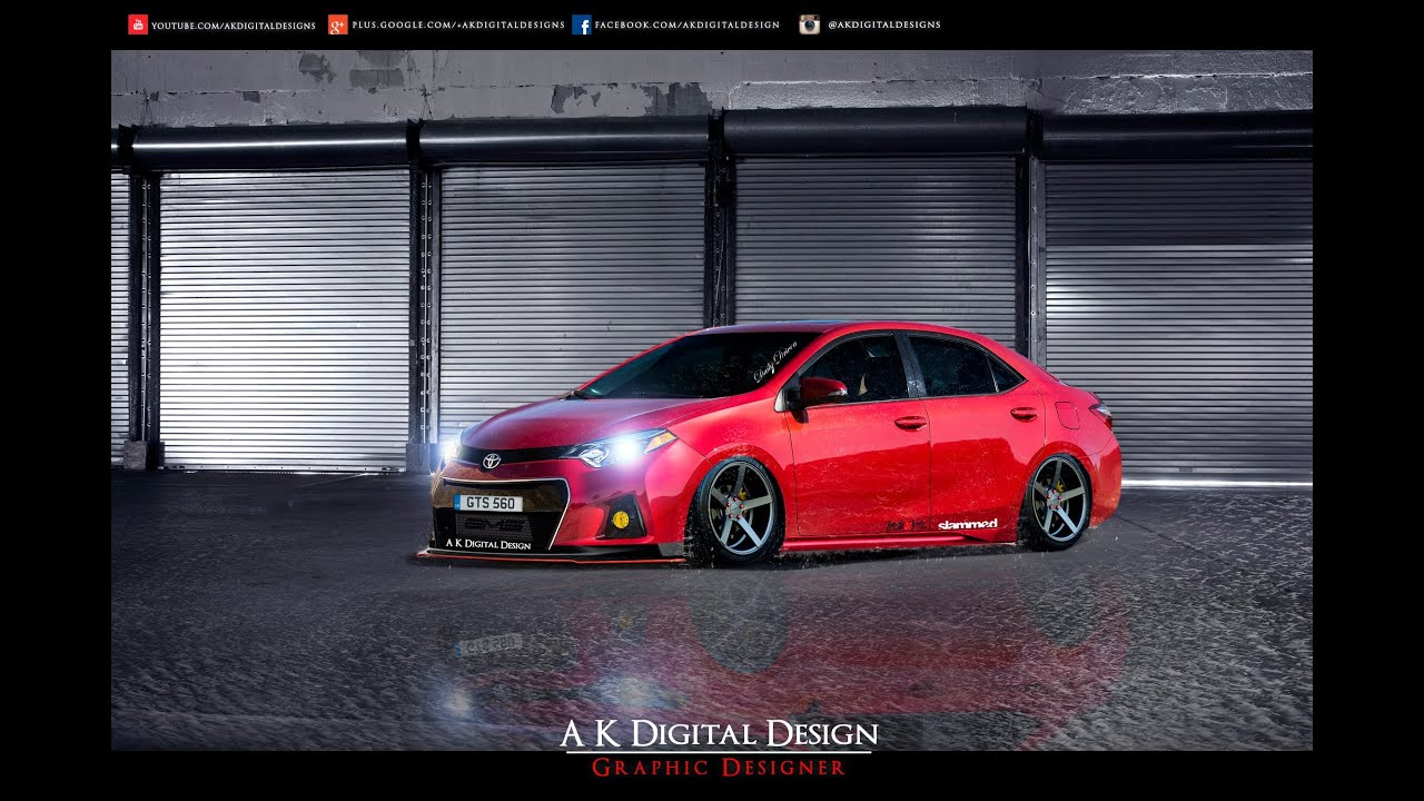 2014 Toyota Corolla Modified Youtube