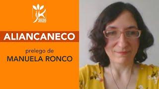 Aliancaneco – Prelego de Manuela Ronco – IJK 2020 en la reto