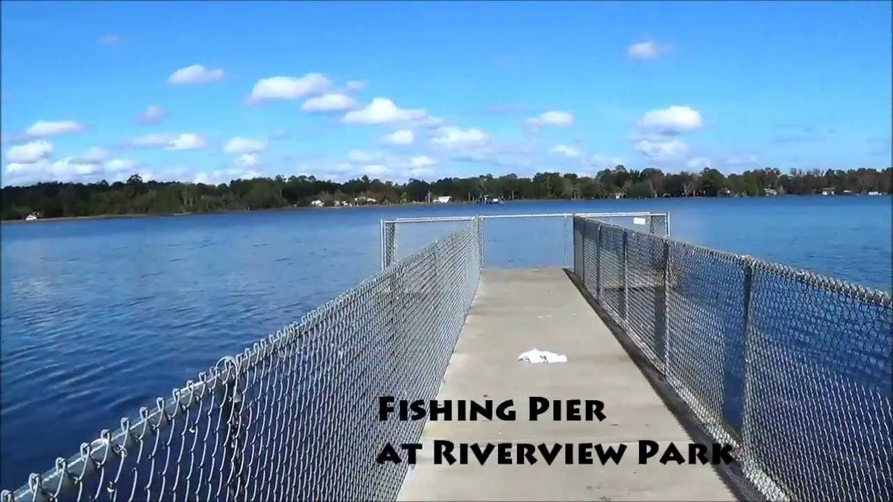 Riverview park fishing pier jacksonville florida youtube for Out of state fishing license florida
