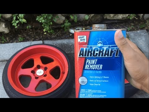 How To Remove Paint Off Your Rims (Fast,Easy,Effective)