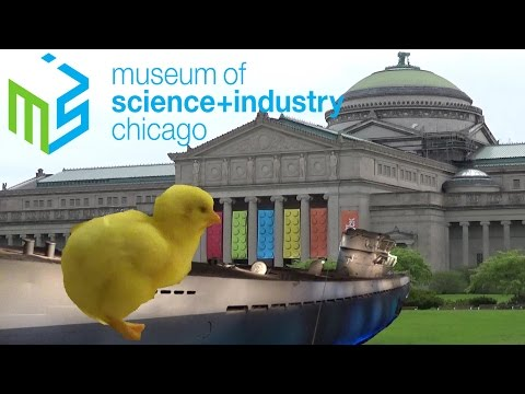 Museum of Science and Industry Chicago 2017 Tour & Review