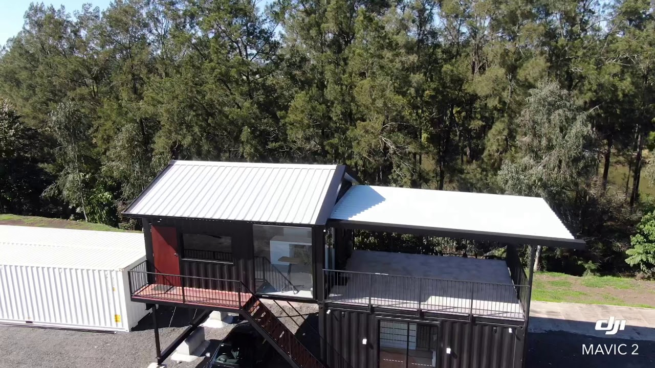 The Executive shipping container home