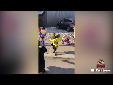 Los niños Transformers