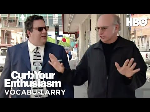 Larry Avoids the Dreaded 'Stop & Chat'   Curb Your Enthusiasm (2017)   HBO