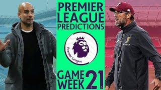 EPL Week 21 Premier League Score and Results Predictions 2018/19