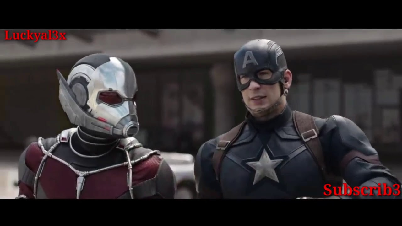 Download Ant man fighting scene in avengers civil war